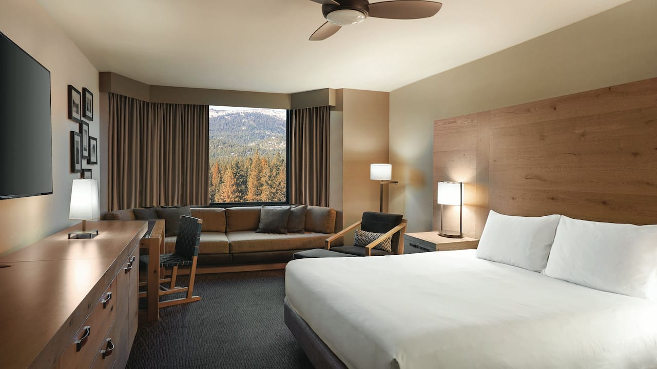 Deluxe Room with King Bed Hyatt Regency Lake Tahoe Resort, Spa & Casino