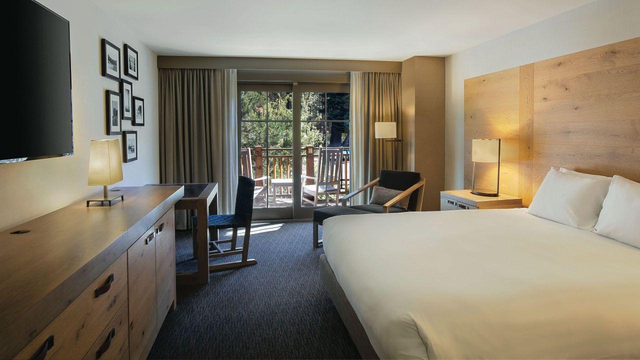 Hyatt Regency Lake Tahoe Resort Spa and Casino King Balcony