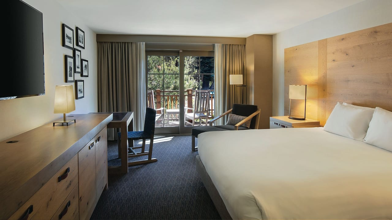 Balcony Room with King Bed Hyatt Regency Lake Tahoe Resort, Spa & Casino