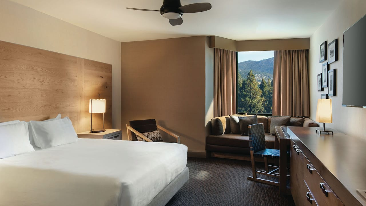 Room with King Bed Hyatt Regency Lake Tahoe Resort, Spa & Casino