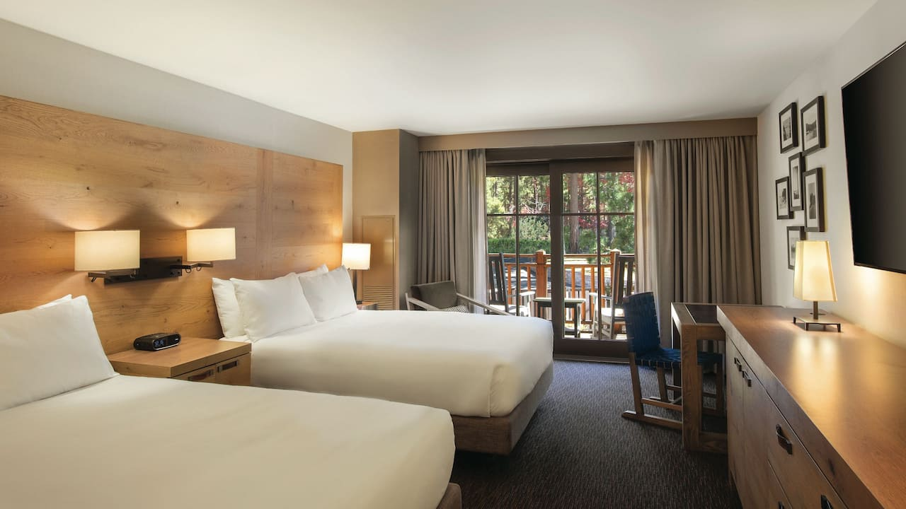 Balcony Room with two Queen Beds Hyatt Regency Lake Tahoe Resort, Spa & Casino
