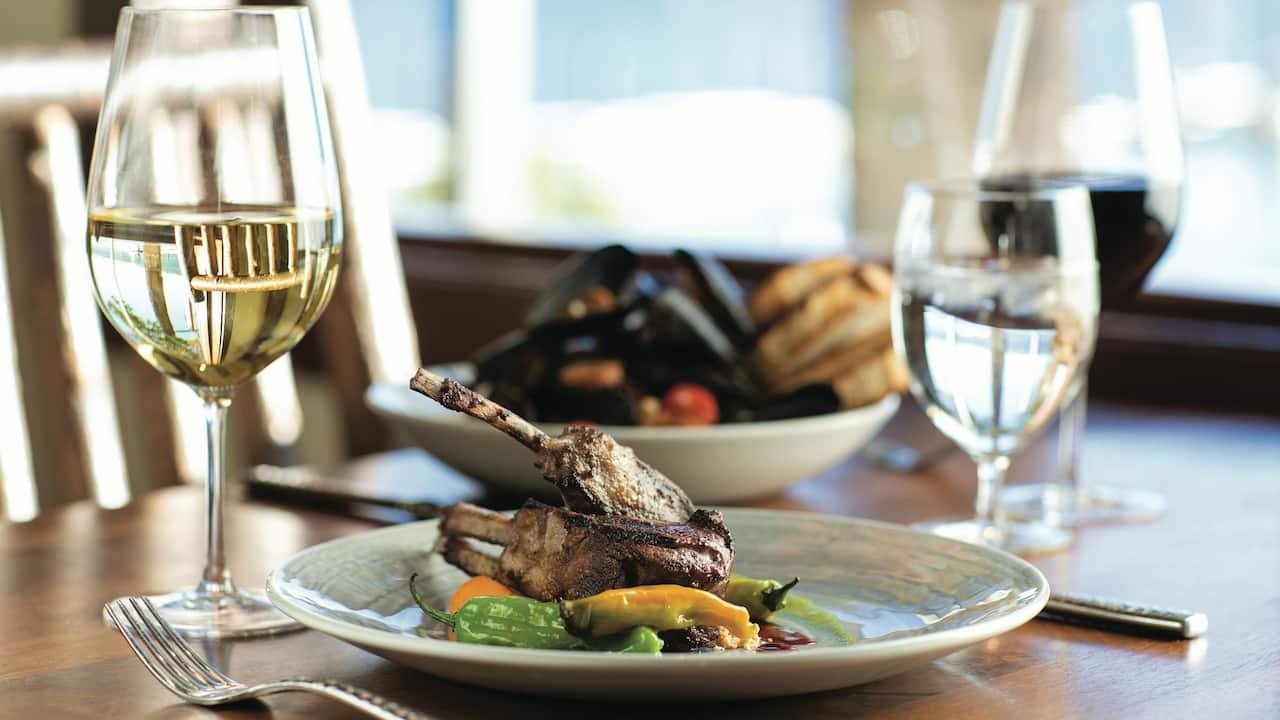 Lone Eagle Grille Lamb Hyatt Regency Lake Tahoe Resort, Spa & Casino