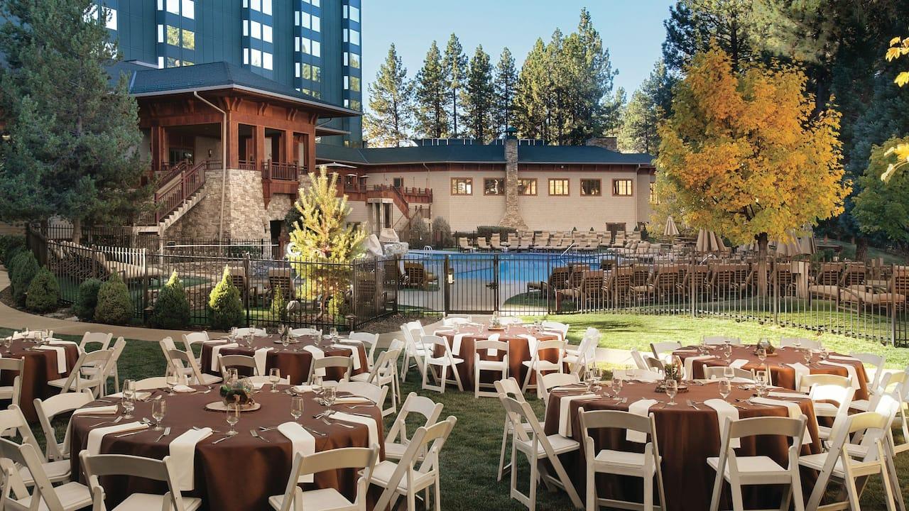 Garden Social Hyatt Regency Lake Tahoe Resort, Spa & Casino