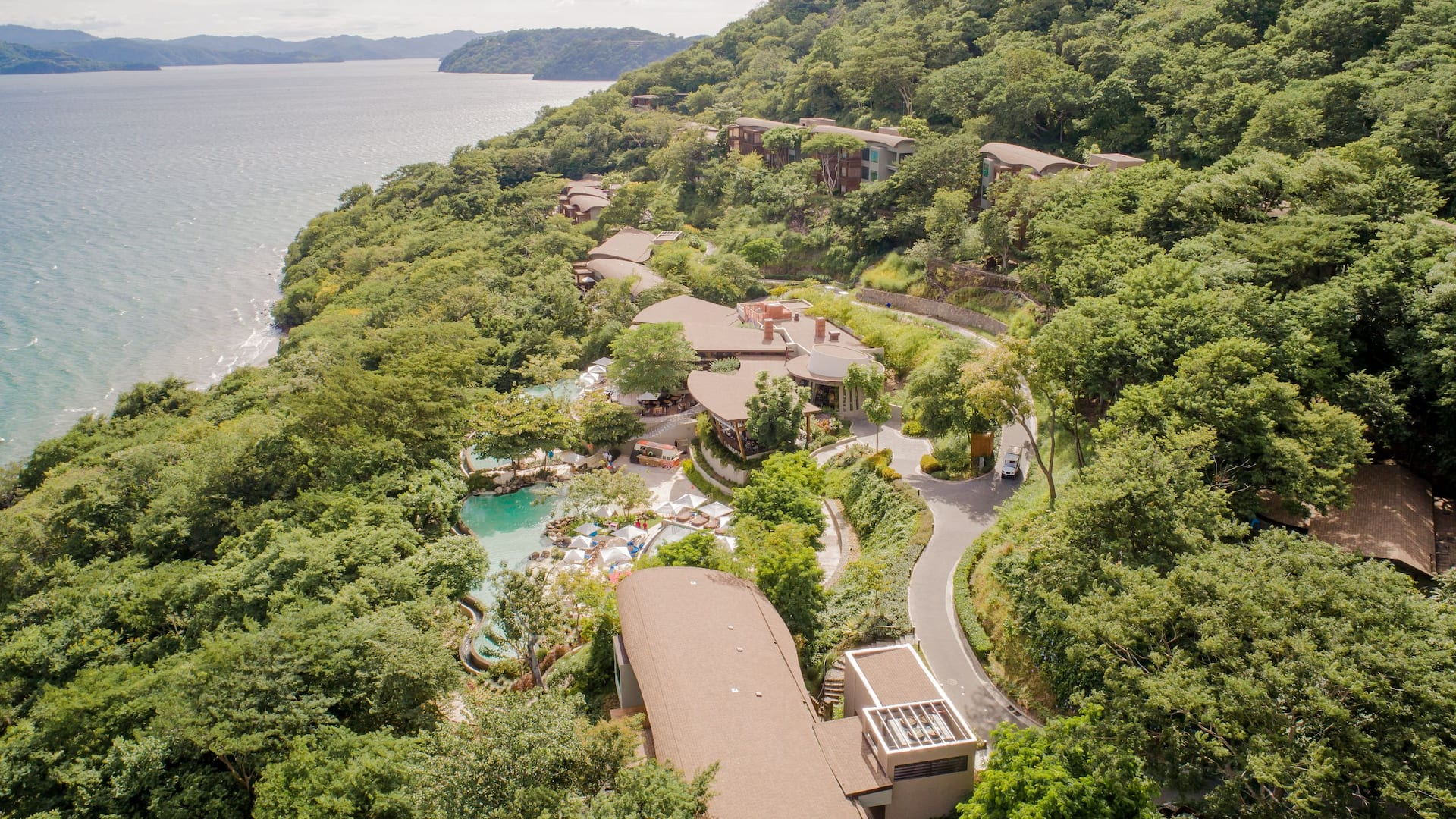 Aerial View Culebra Bay