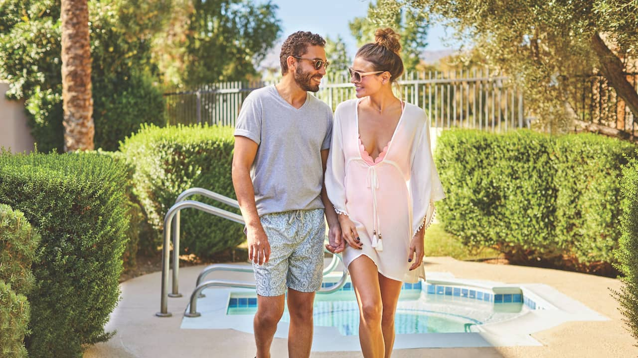 Villa Pool Couple