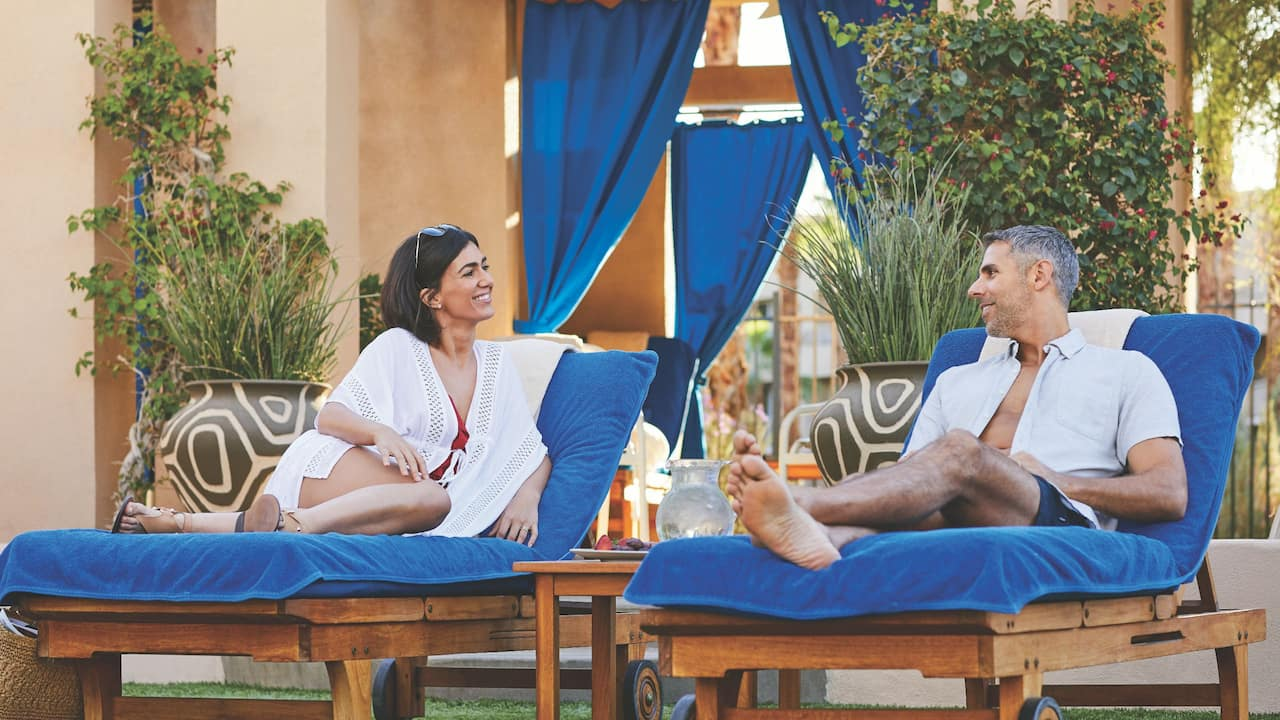 Cabana Couple