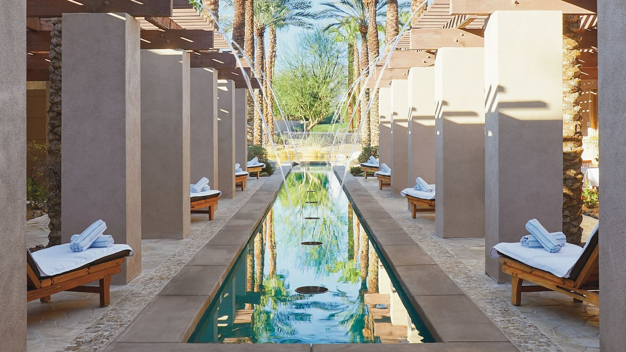 Agua Serena Spa Reflection Pool