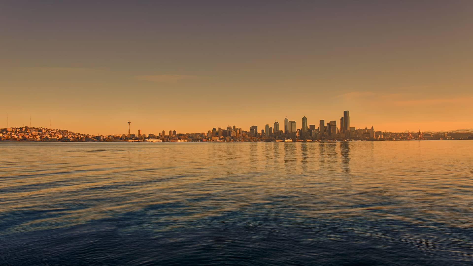 Sunrise skyline