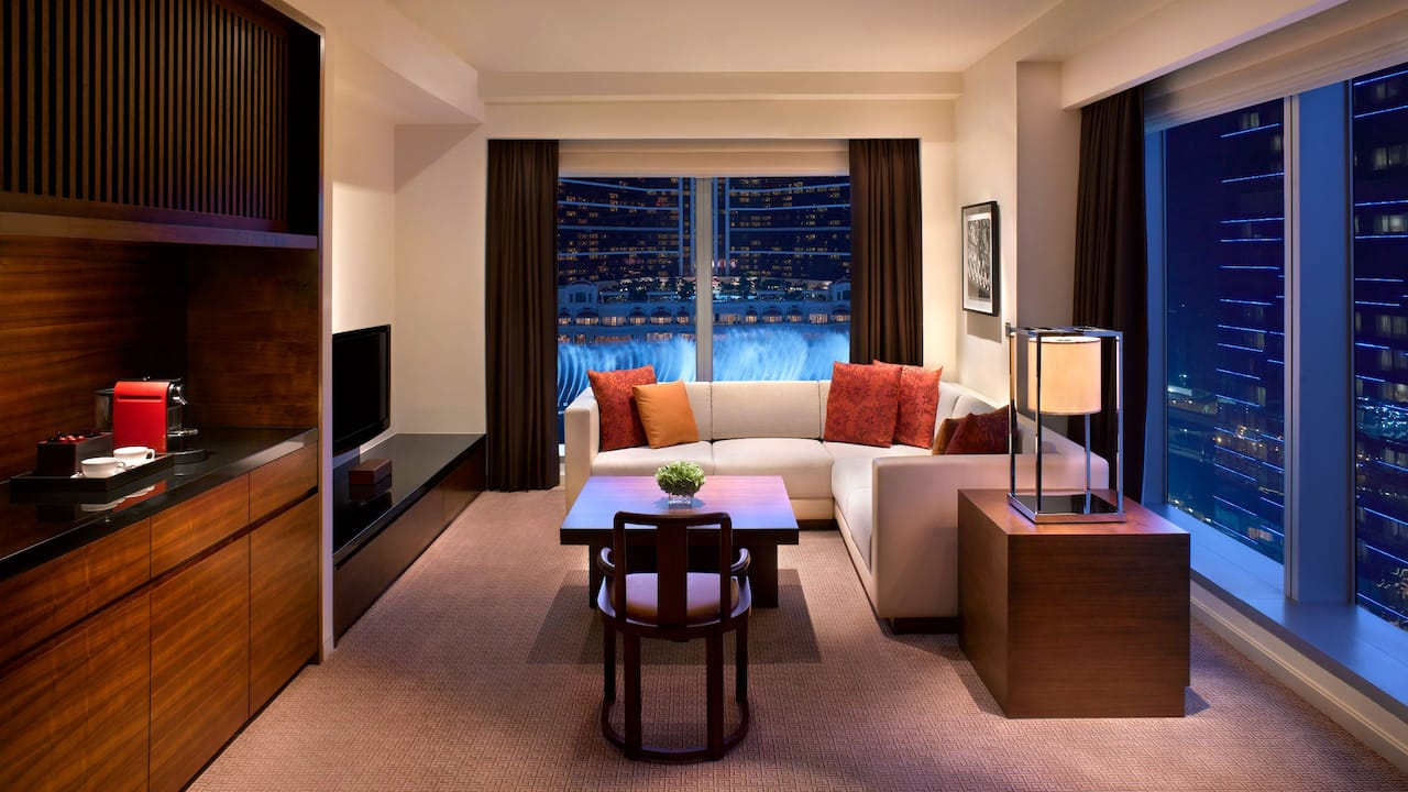Grand Hyatt Macau Grand Deluxe Fountain View Suite