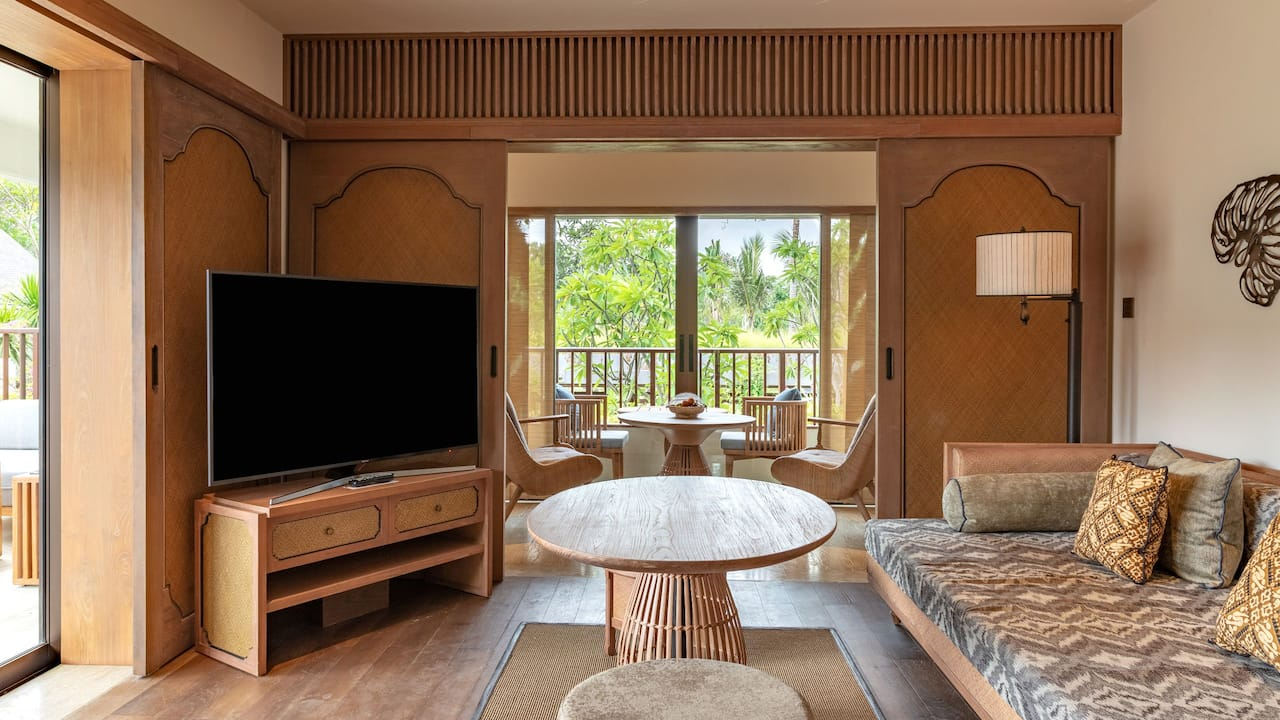 1 King Bed Regency Suite with Living Room at Hyatt Regency Bali