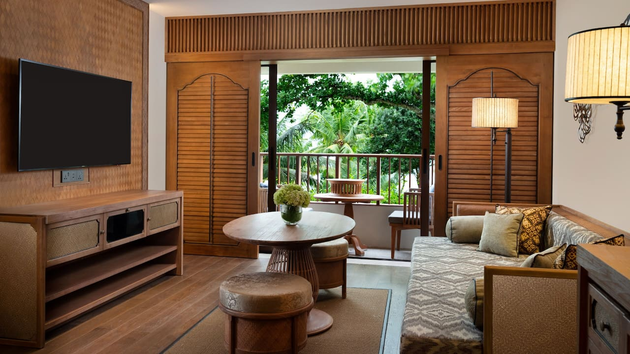 Family Suite with 1 King Bed and Spacious Living Room, Hyatt Regency Bali
