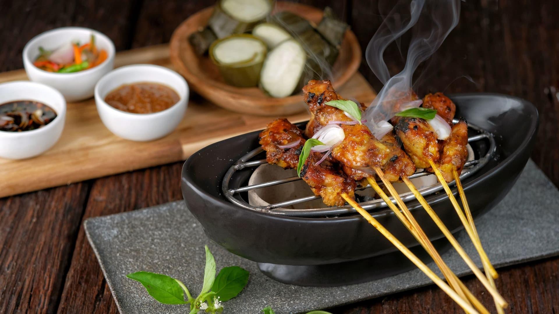 Satay Menu by Angkringan Hyatt, Indonesian Traditional Food Yogyakarta
