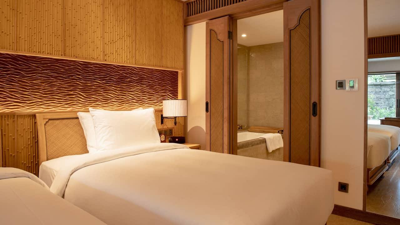 2 Twin Beds Premium Room Hyatt Regency Bali