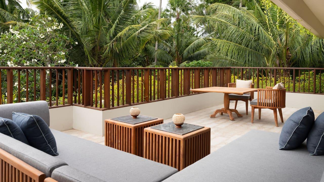Sanur Beach Hotel Hyatt Regency Bali (Regency Suite Balcony)