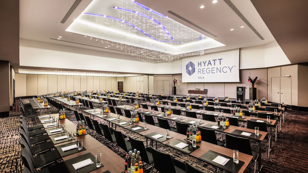 Meeting Space at Hyatt Regency Cologne
