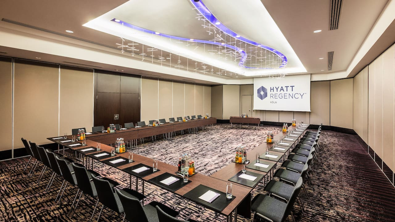 Rheinsaal III at Hyatt regency Cologne