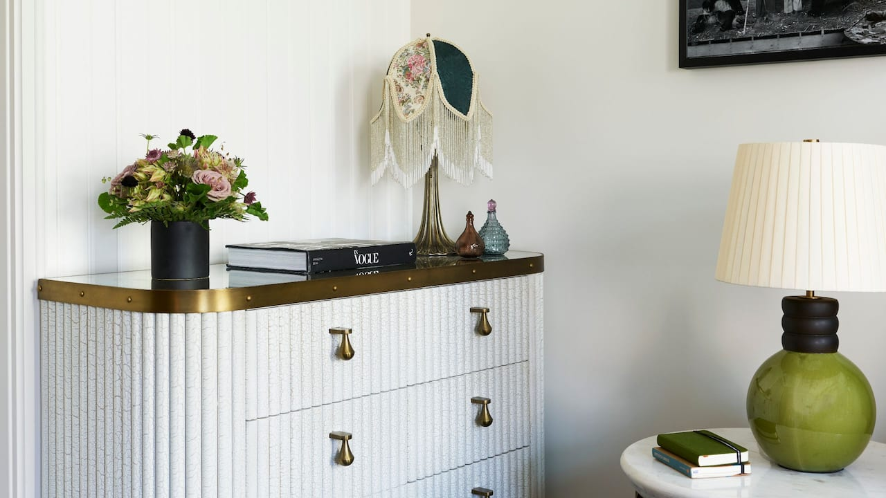 Corner Suite Dresser