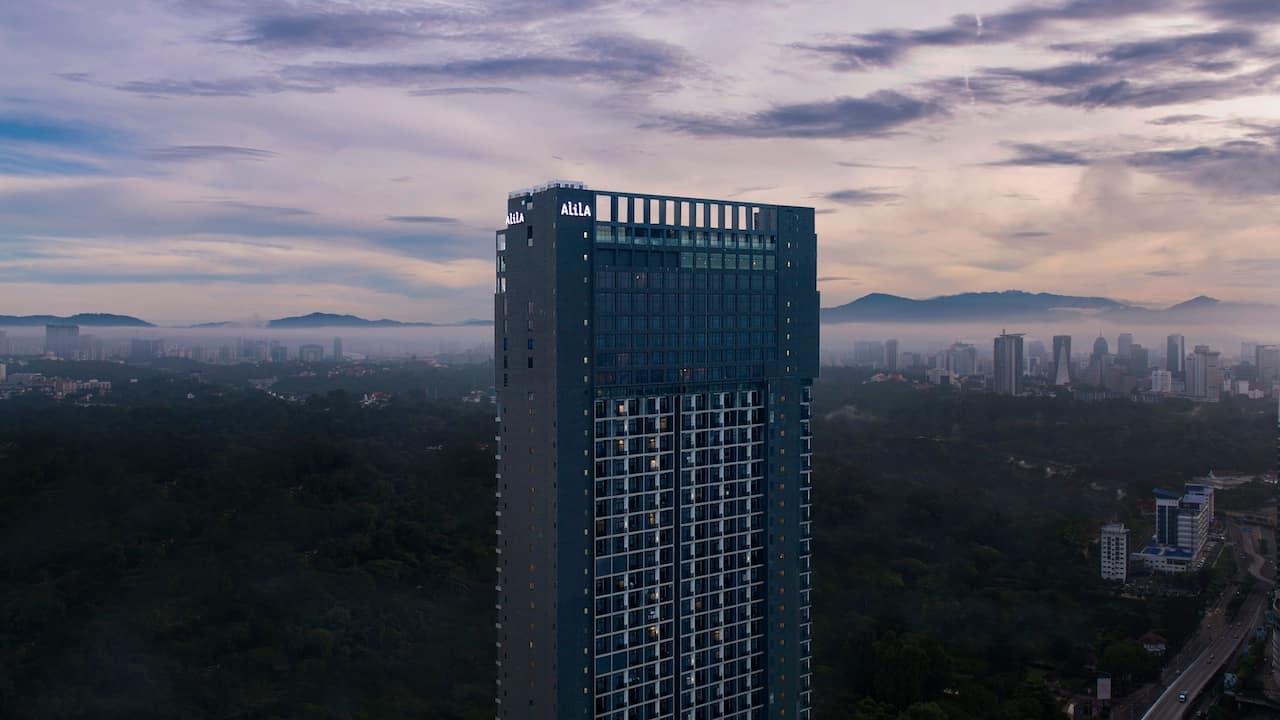 Alila Bangsar - Design - Exterior Sunset