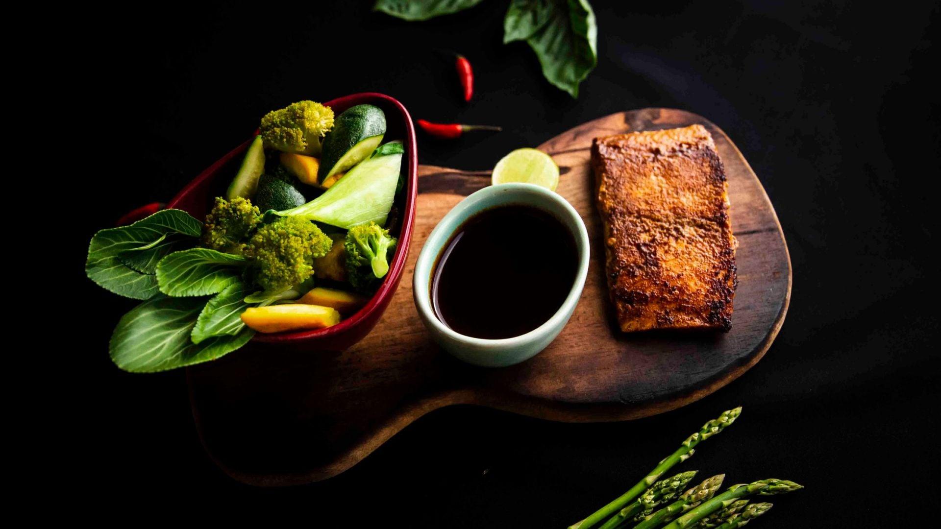 Miso Salmon at The Asian Wok