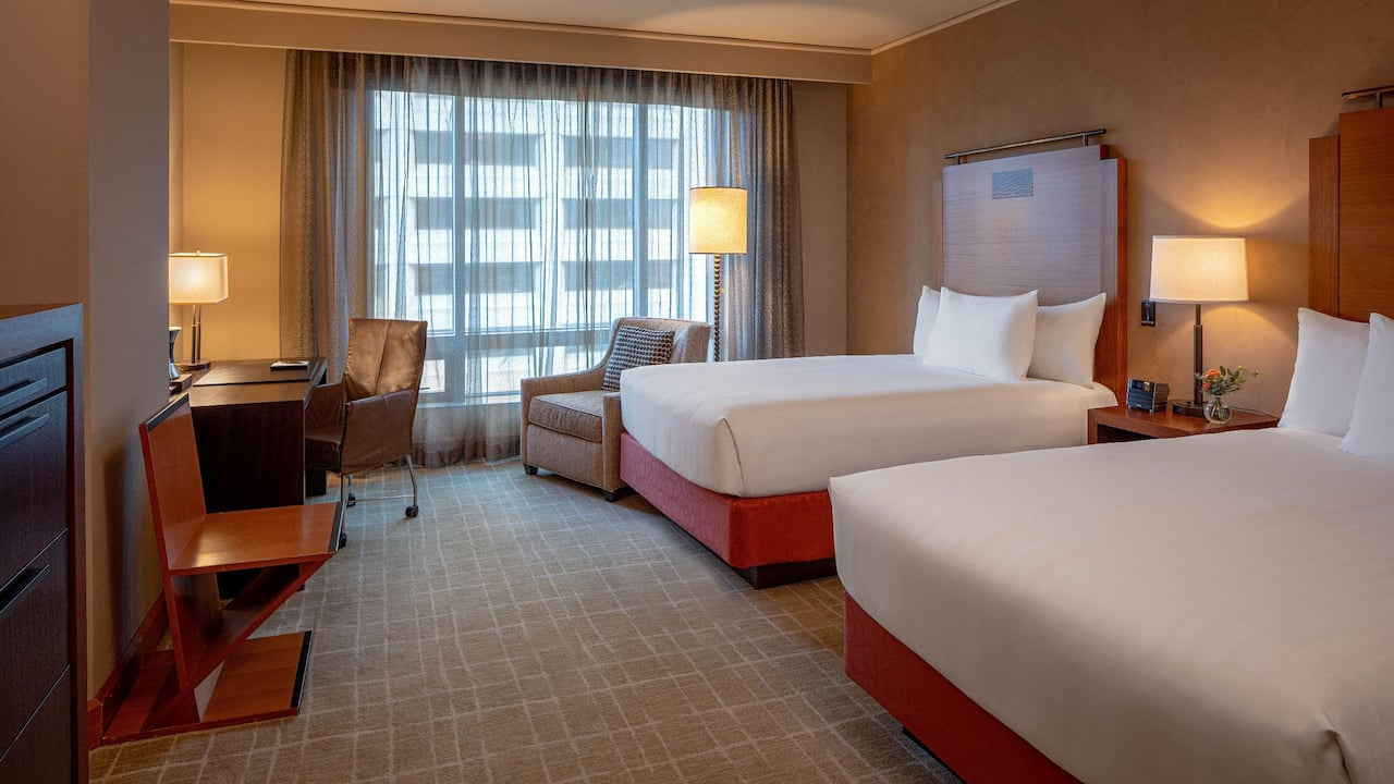 Grand Hyatt Seattle Double Beds