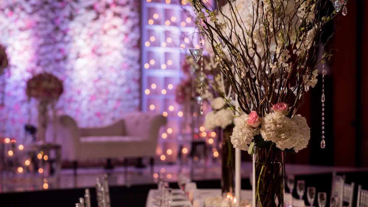Hyatt Regency Chesapeake Bay Gold Resort Spa and Marina Wedding Decor