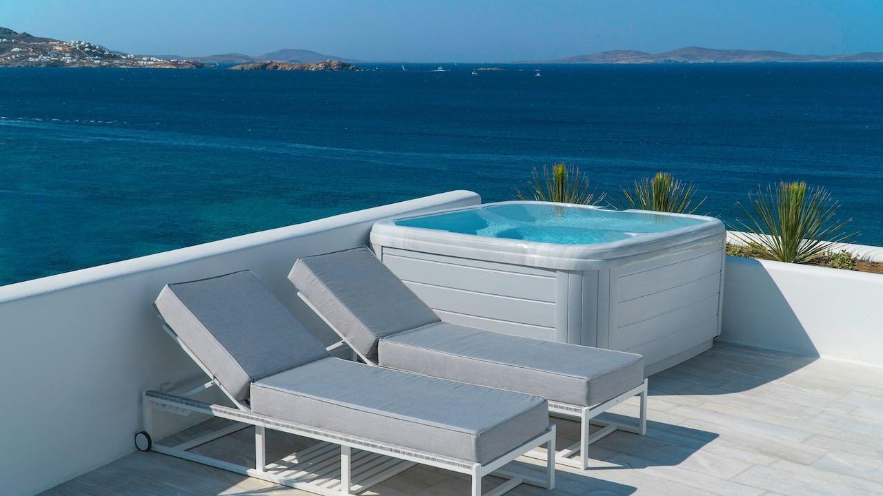 Glam Hot Tub Retreat