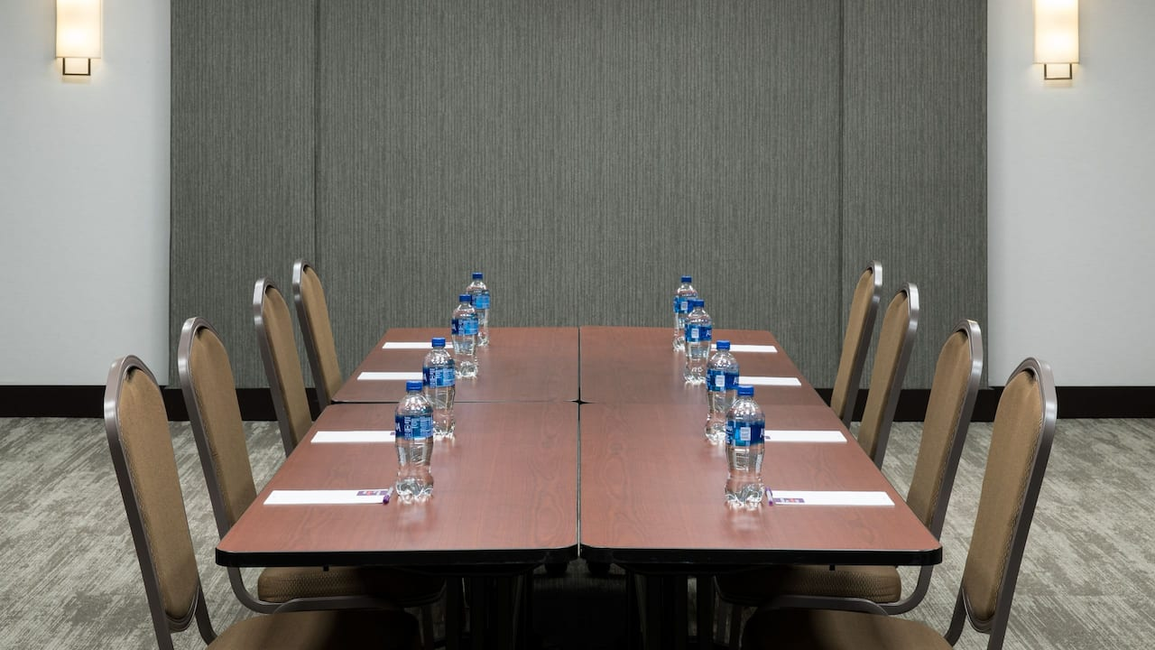Meeting room at a hotel near Mayport Naval Base in Jacksonville, FL
