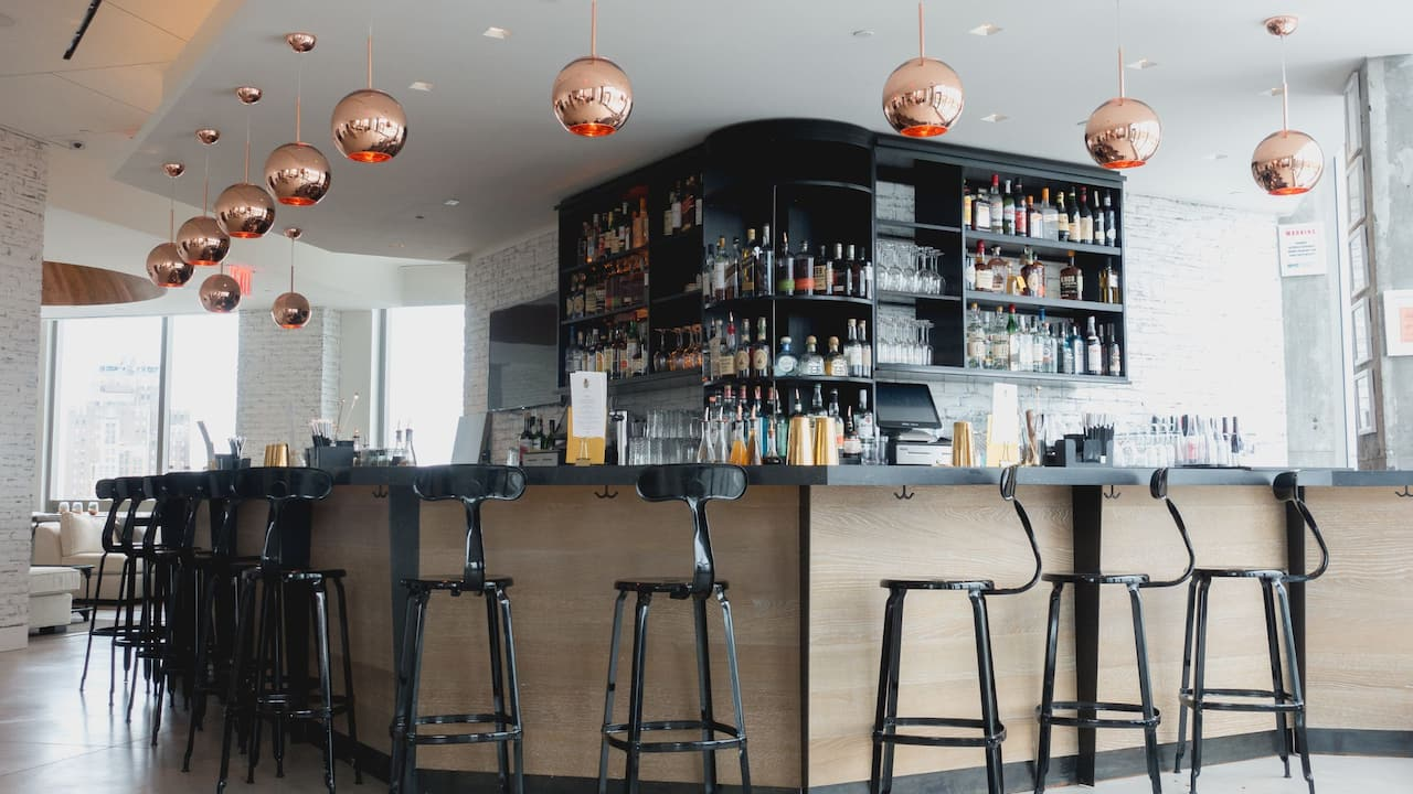Rooftop Crown Bar