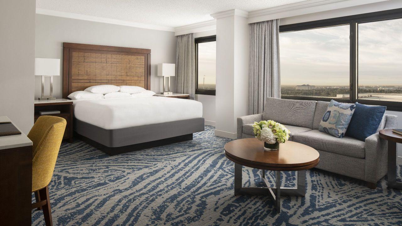 Larger King guestroom at Hyatt Regency Orlando