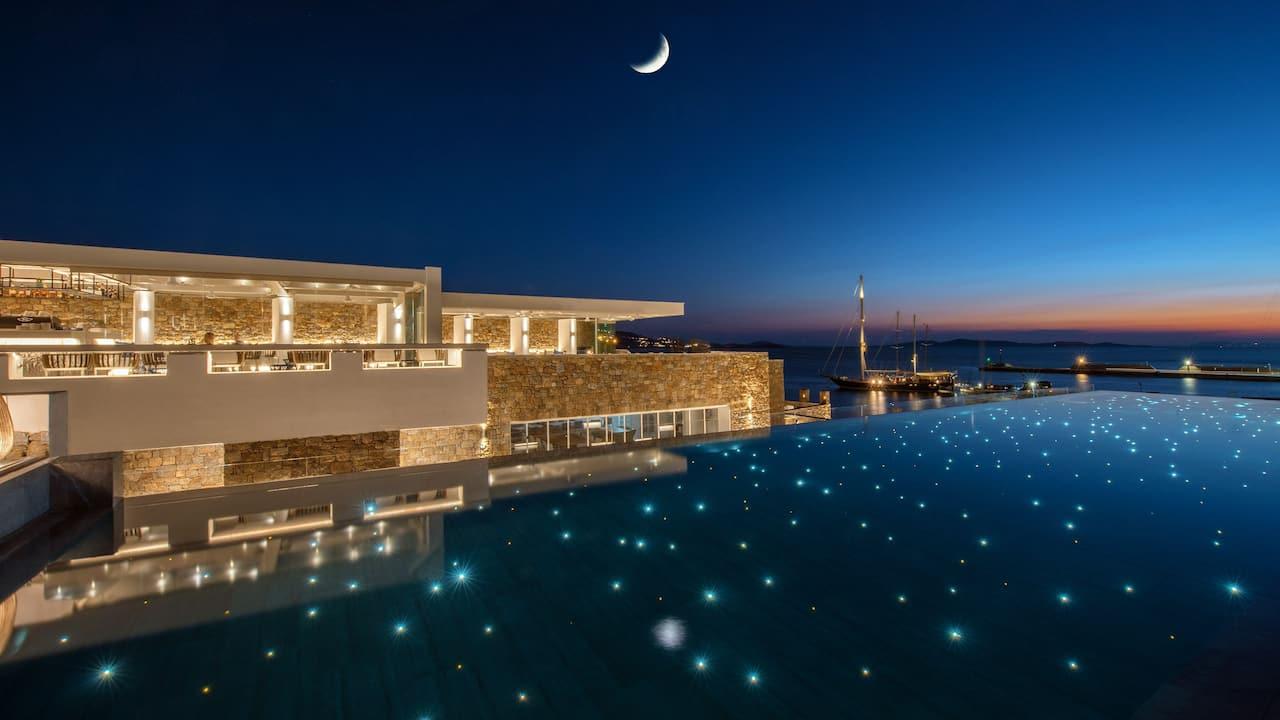 Pool Club with Star Light Pool