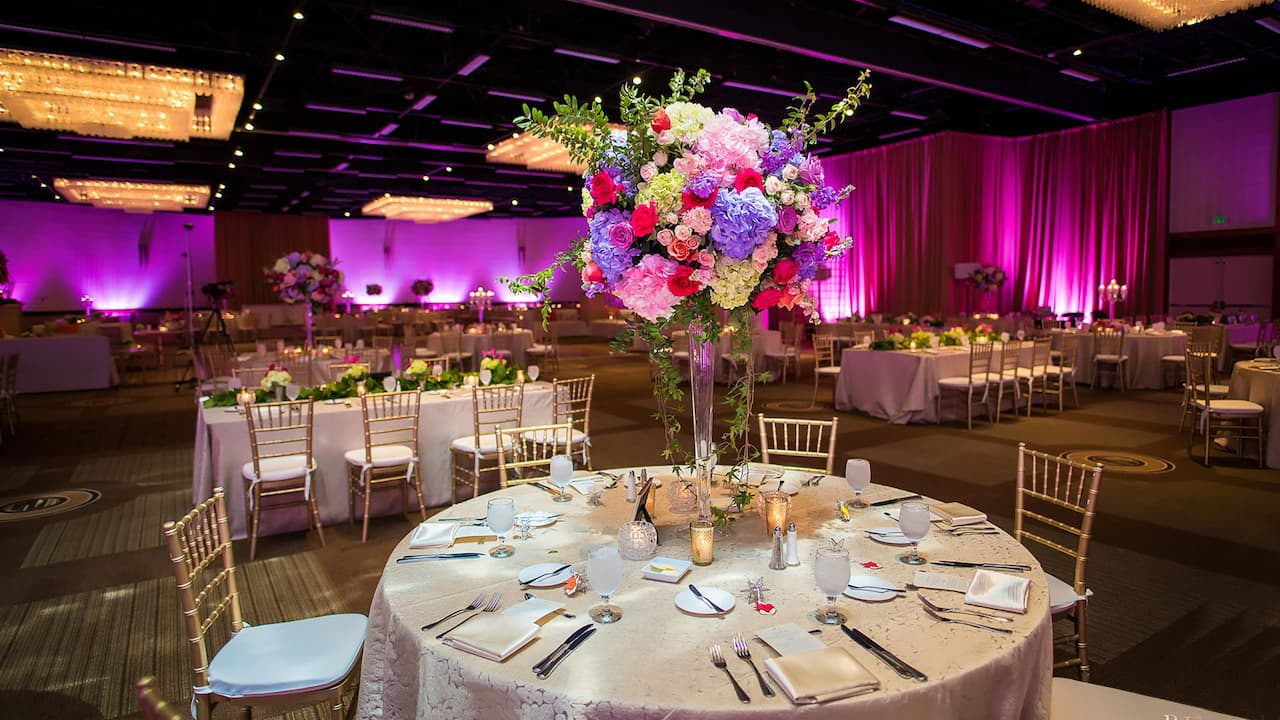 Wedding Tall Centerpiece