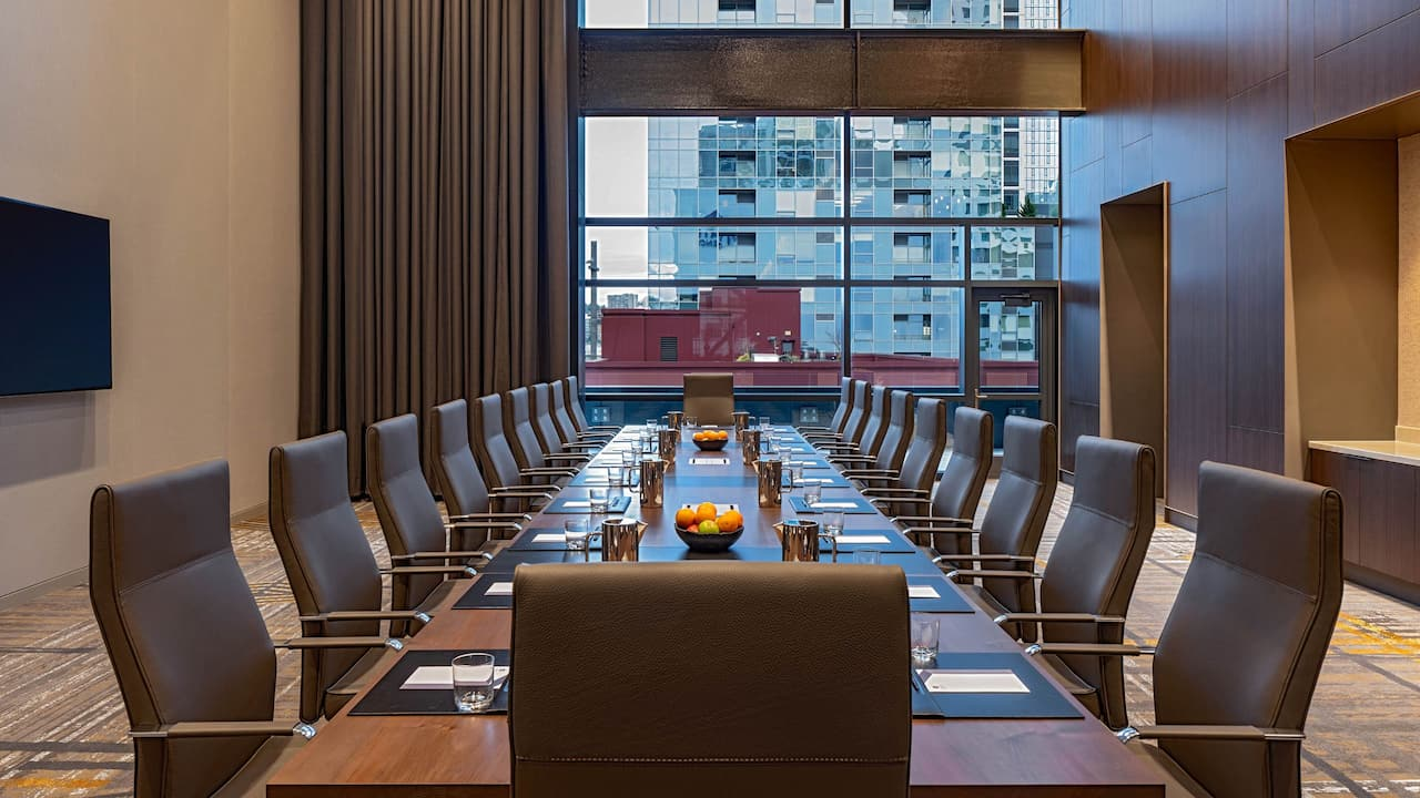 Hyatt Regency Seattle Executive Boardroom