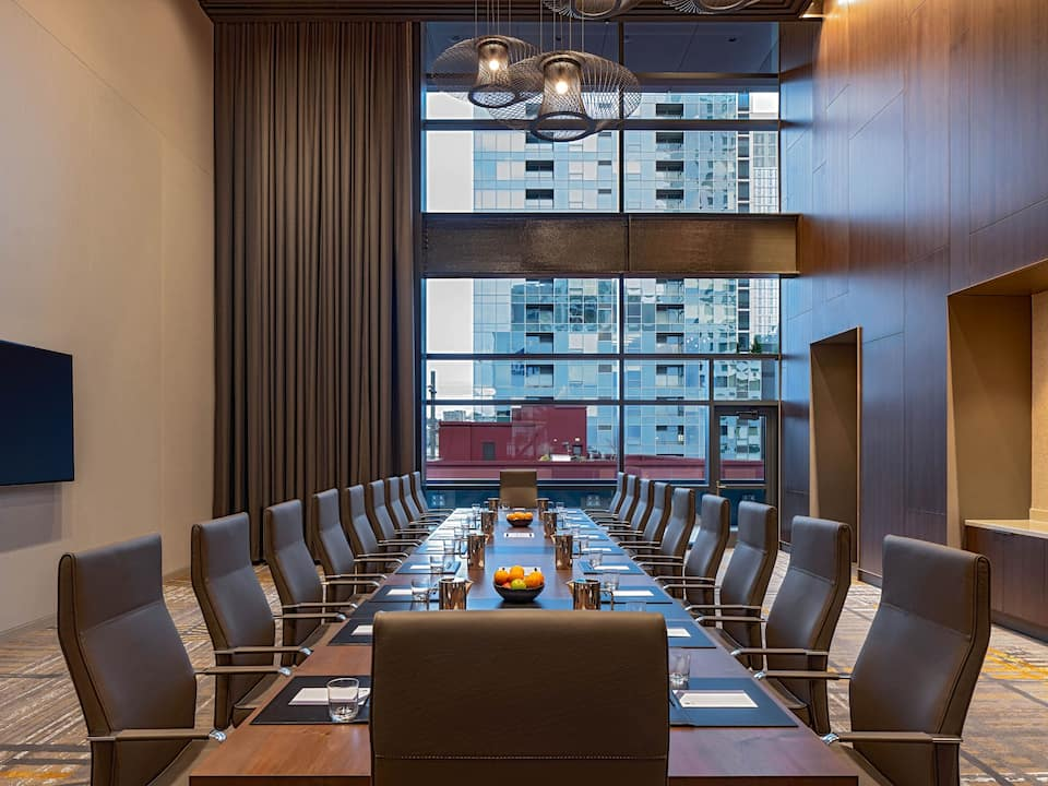 Hyatt Regency Seattle Boardroom