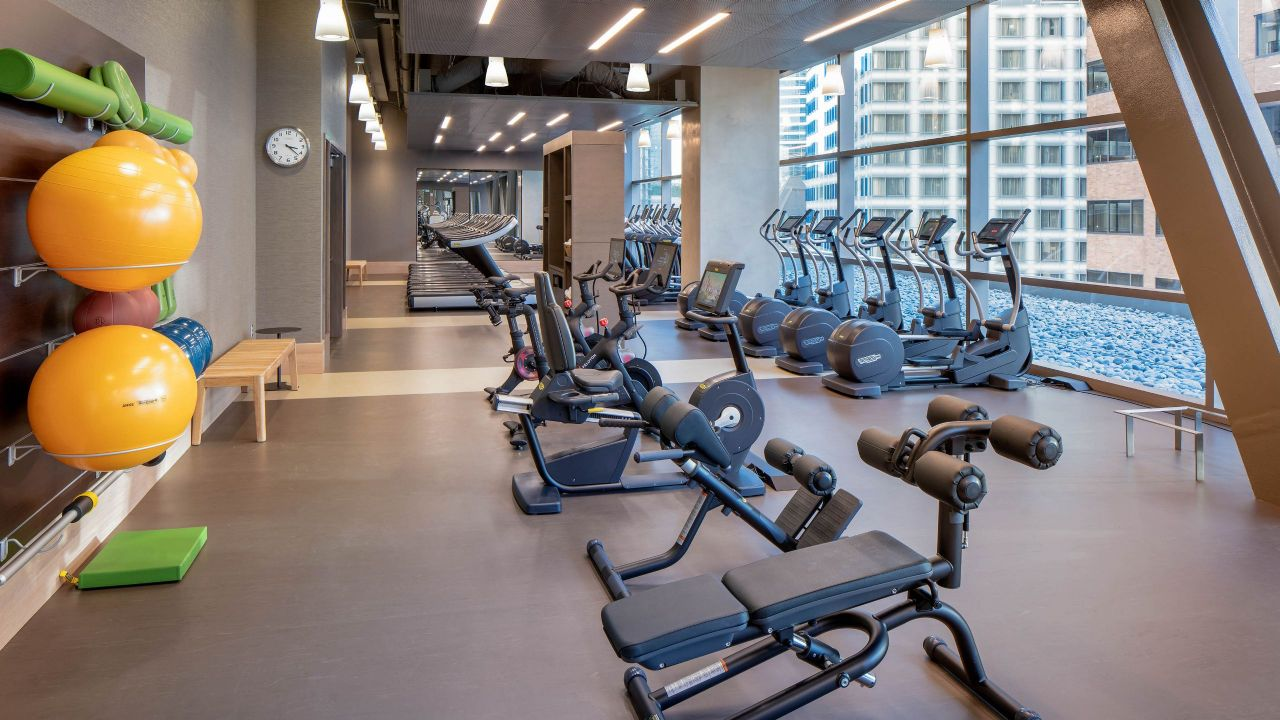 Hyatt Regency Seattle 24 Hour Fitness Center
