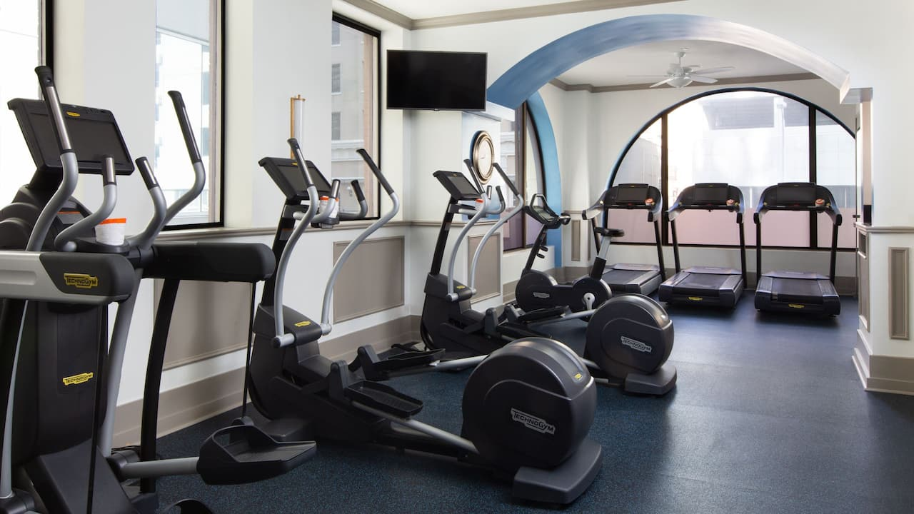 Downtown Austin Hotel Fitness Room