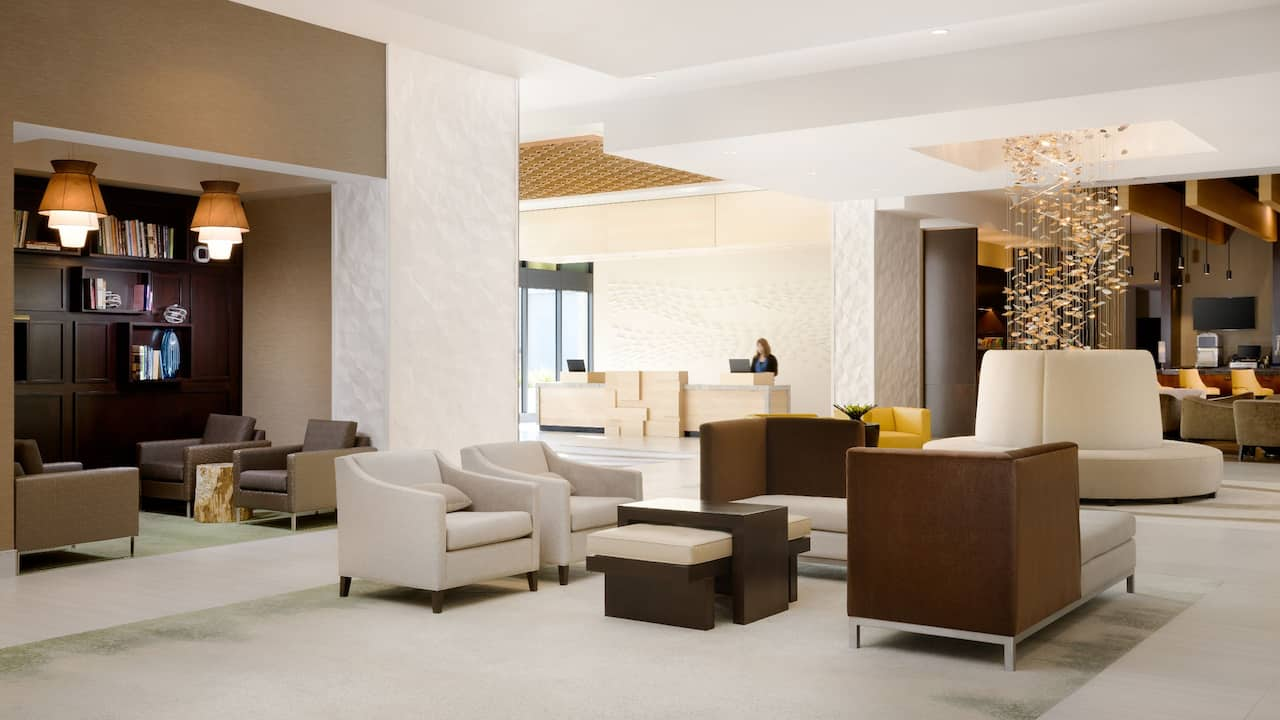 Hyatt Place Pasadena Seating Area