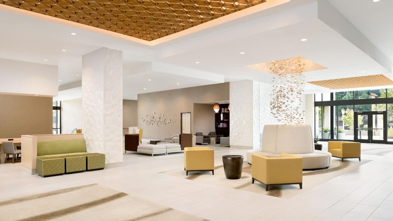 Lobby Seating at the Hyatt Place Pasadena