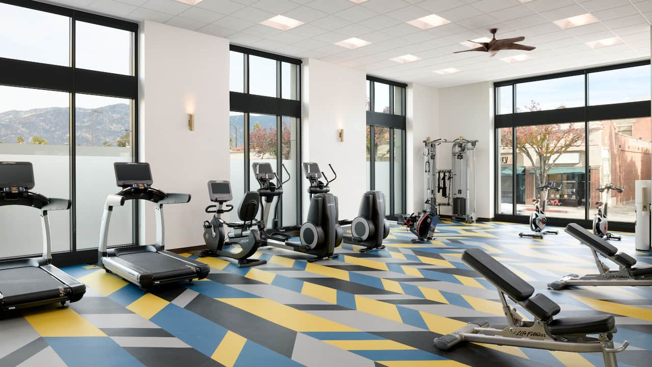 Hyatt Place Pasadena Gym