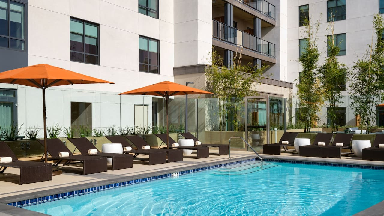 Hyatt Place Pasadena Outdoor Pool