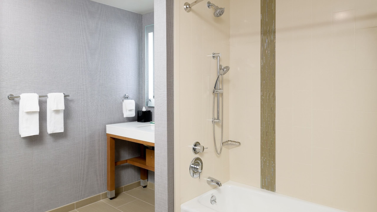 Accessible Bathroom at Hyatt Place Pasadena