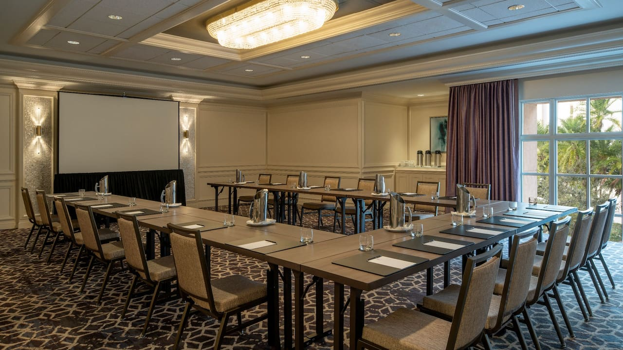 Cadiz Meeting Room Hyatt Regency Coral Gables