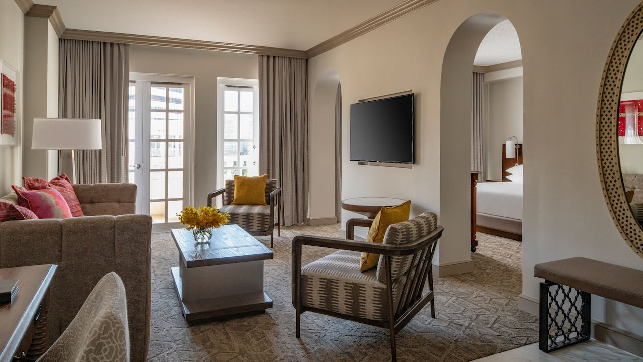 Terrace Suite Hyatt Regency Coral Gables