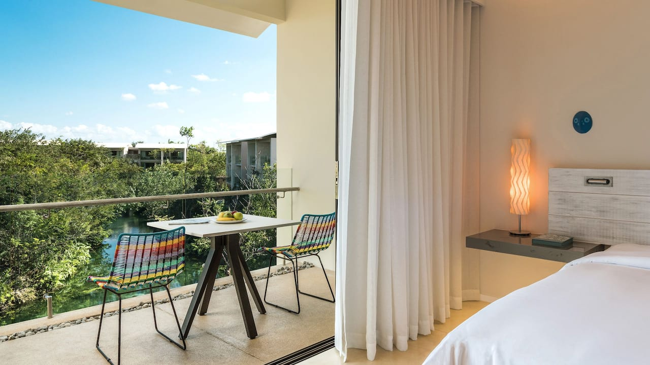 Andaz Mayakoba Resort Riviera Maya Two Double Beds Mangrove View