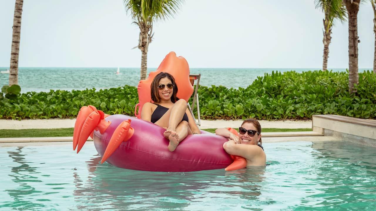 Andaz Mayakoba Resort Riviera Maya Presidential Suite Pool