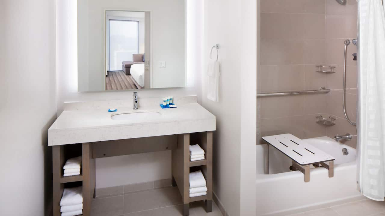 ADA Tub Bathroom