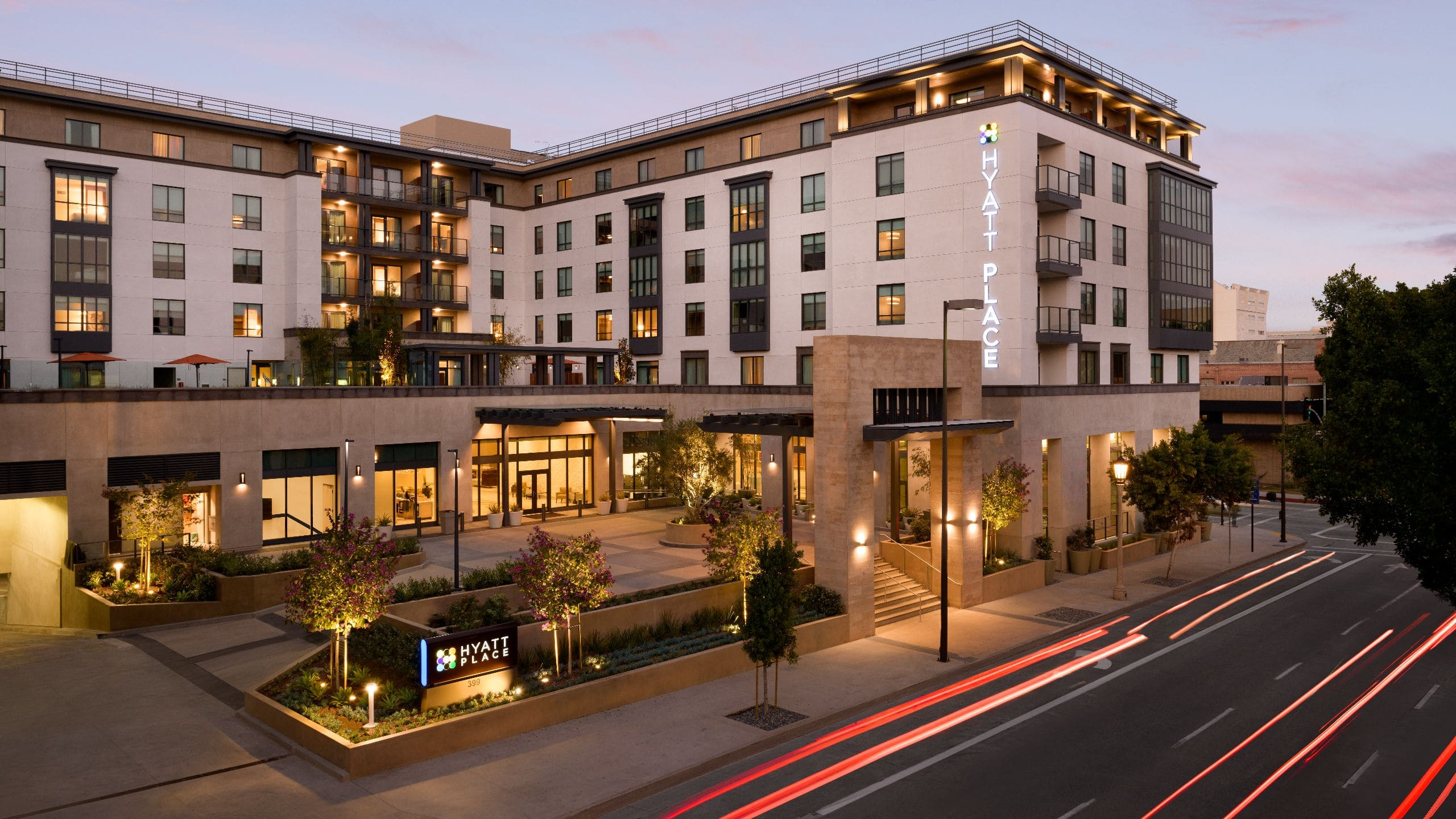 Upscale Downtown Hotel Near Old Town Hyatt Place Pasadena