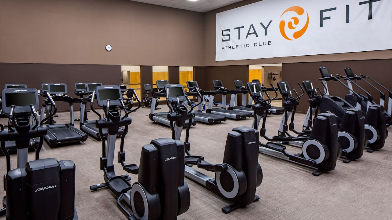 Fitness Center Hyatt Regency Minneapolis