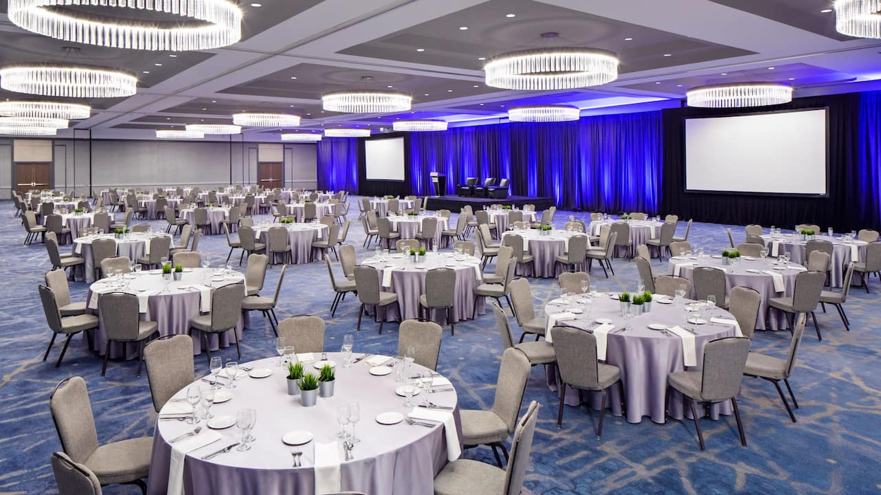Nicollet Ballroom Rounds Hyatt Regency Minneapolis
