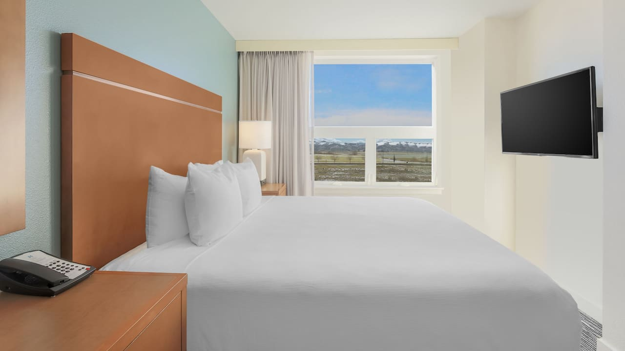 Hyatt House Denver Airport King Suite with Mountain View Guest Room