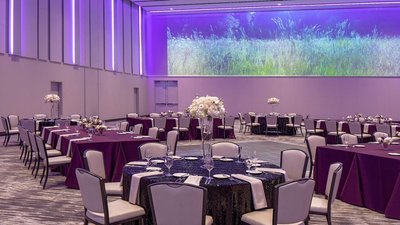 Elwha Banquet Setup